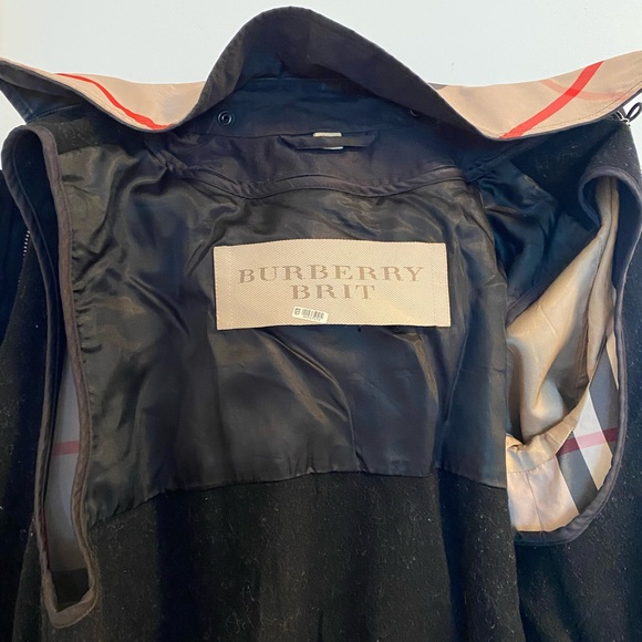 Used Burberry Rain jacket coat small size USA 2